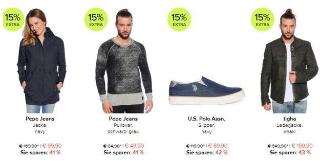 D3L sale vsk frei dress for less bis Mitternacht 15% extra Rabatt + VSK frei   z.B. Tommy Hilfiger Sneaker für 33,20€