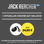 "Google Chromecast 2 + ""Jack Reacher"" HD Stream für nur 24,99€"