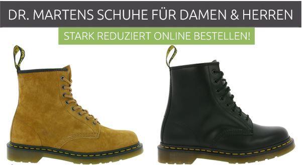 Dr. Martens Boots für Damen und Herren Restgrößen ab 59,99€