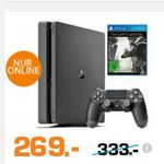 Entertainment Weekend Deals bei Saturn: z.B.  PlayStation 4 Slim 1TB + The Last Guardian für 269€