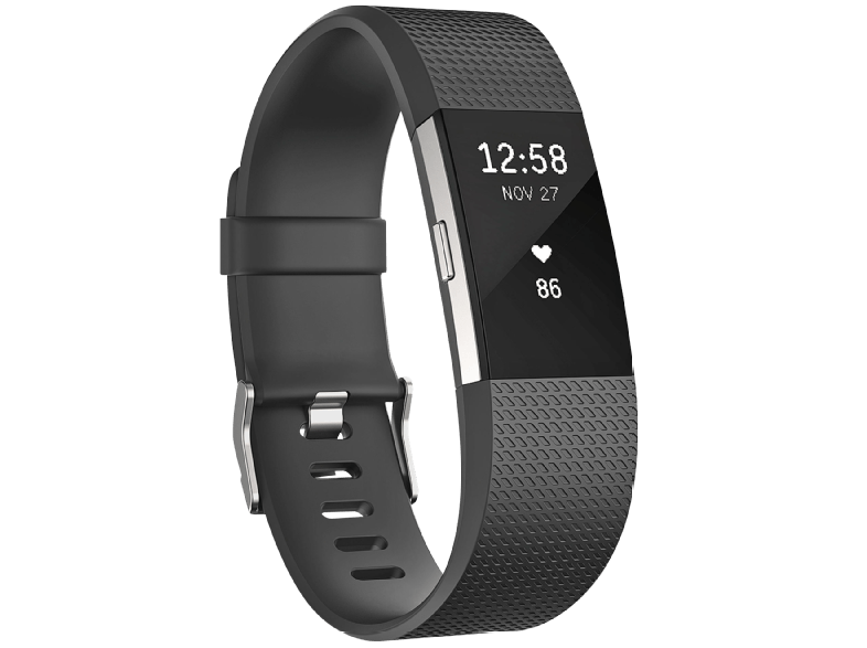 FITBIT--Charge-2-Large--Activity-Tracker--165-206-mm--Schwarz-Silber
