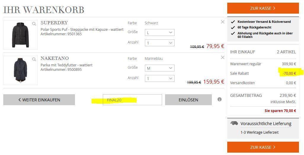 b23ef794be4f4c Peek   Cloppenburg  Frühjahrs Sale mit bis zu 81% Rabatt + VSK-frei ...