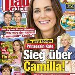 """""""frau aktuell"""" Jahresabo für 109,20€ inkl. 70€ Verrechnungsscheck"""