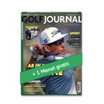 3 Ausgaben Golf Journal für 18,90€ + 20€ Gutschein
