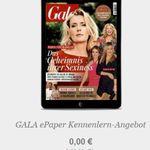 4 Ausgaben Gala (ePaper) gratis – endet automatisch