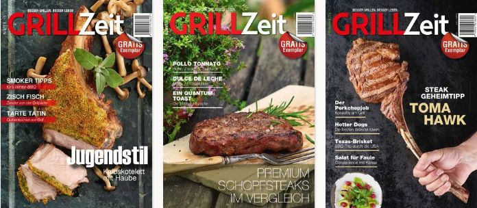 Grillzeit Beispiele 23 Ausgaben Grillzeit kostenlos online lesen
