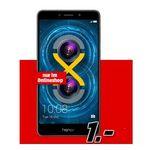 Honor 6X – Dual SIM + eplus Smart Surf mit 1GB + 50 Min/SMS für 11,99€ mtl.