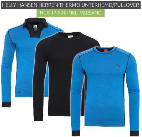 HH Herren Unterwäsche Helly Hansen Workwear   z.B. Herren Thermo Unterhemden für 9,99€