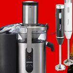 Media Markt Messe Angebote – günstige Haushalts Geräte – u.a. JUPITER Nutrimix Standmixer statt 385€ für 199€