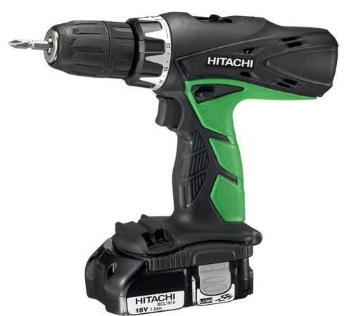 HITACHI DV18DCL2 Akkuschrauber Hitachi DV 18DCL2   Akku Li ION Schlagbohrschrauber für 111€
