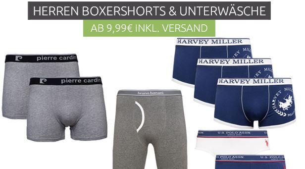 Herren Boxershorts sale by Outlet46 Unterwäsche Sale bei Outlet46 + VSK frei   z.B. 2er Pack Kappa Boxershorts für 9,99€