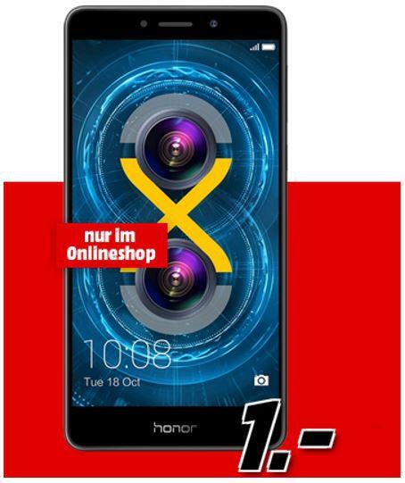 Honor 6X   Dual SIM + eplus Smart Surf mit 1GB + 50 Min/SMS für 11,99€ mtl.