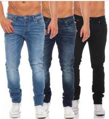 JACK & JONES Tim Originals   Herren Jeans in 4 Farben für je 39,90€