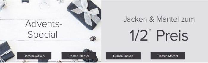 Jacken & Mäntel mit bis zu 50% Rabatt bei dress for less   z.B. Tommy Hilfiger Sakko statt 199€ für 149€