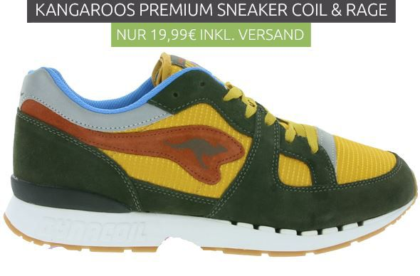 Kangeroos Coil Rage Kangaroos 470   Herren Sneaker statt 38€ für nur 19,99€