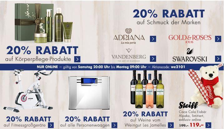 Karstadt Kracher Januar Karstadt Kracher mit z.B. 50% Rabatt auf reduzierte TOM TAILOR Fashion