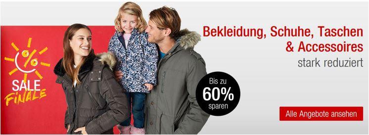 Kaufhof FinalSale Kaufhof:  Final Sale bis 60% Rabatt auf Bekleidung, Schuhe, Taschen und Accessoieres