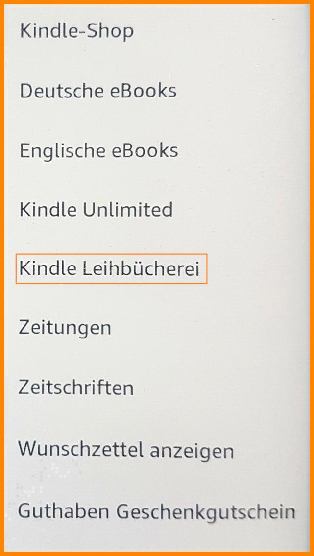 Kindle-Bücher kostenlos leihen - So gehts!