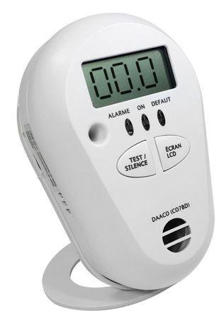 Kohlenmonoxid Melder mit 85 dB Alarm für 19,99€