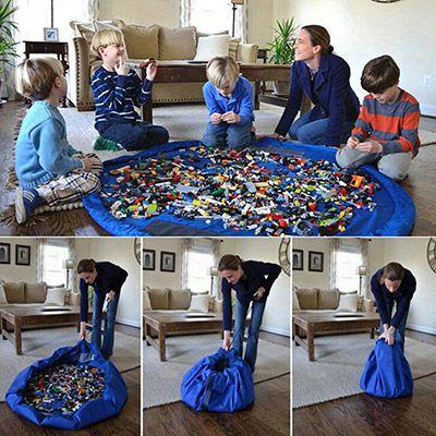 Spielzeug Matte in 2 Größen (80/150cm Durchmesser) ab 3,29€