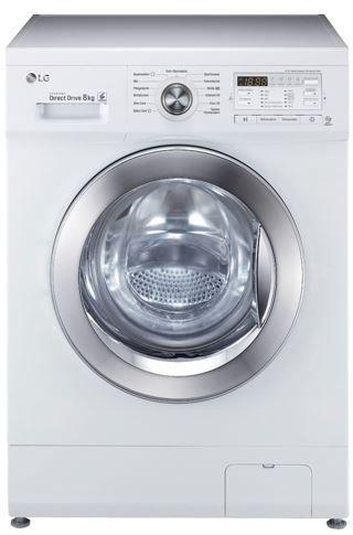 LG F 14 B 8 CHROM   8Kg Waschmaschine EEK A+++ für 377€