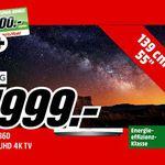 LG OLED55B6D – 55 Zoll OLED Ultra HD Fernseher für 1.999€ + 500€ Gutschein (statt 2.299€)