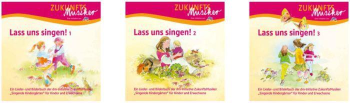 Lass uns singen! Liederbücher bei DM anfordern   gratis