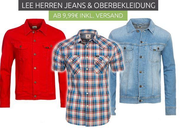 Lee Herren Jeans & Oberbekleidung ab 9,99€