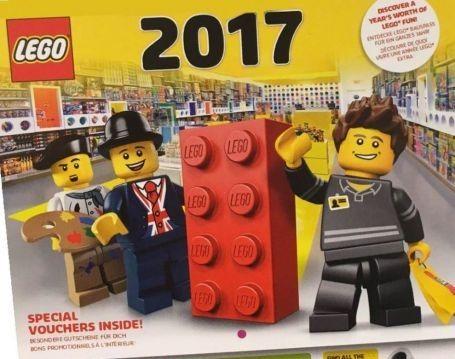 Kostenloser Lego Wandkalender 2017 – ab jetzt in den Lego Stores verfügbar