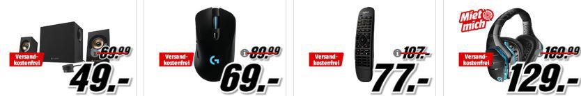 Media Markt Logitech Tiefpreisspätschicht   LOGITECH Harmony Companion Universalfernbedienung für 77€