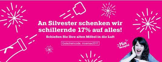 MömaX mit 17% Rabatt auf alles bis Mitternacht!   HOT!
