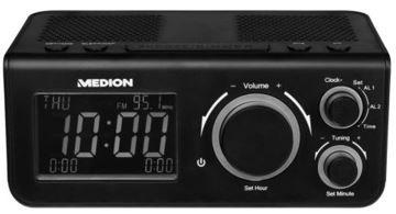 MEDION LIFE E66323 Medion Life E66323 Uhrenradio schwarz oder weiß für 11,99€