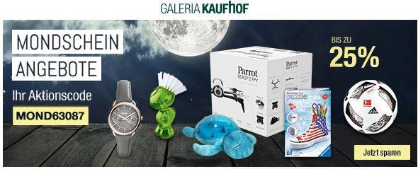 MOND63087 Parrot Bebop 2 FPV Quadrokopter statt 687€ für 499€ und mehr Galeria Kaufhof Mondschein Angebote