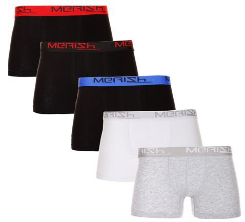 Merish 213   10er Pack Herren Boxershorts für 19,90€ (statt 25€)