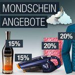 20% Rabatt: Wein, Schaumwein, Spirituosen und Bier und mehr Galeria Kaufhof Mondschein Angebote