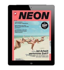 NEON E Paper   1 Jahr für 30€ + 30€ Verrechnungsscheck