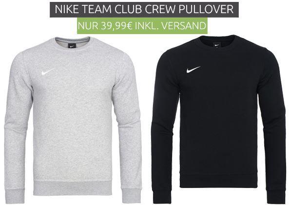 NIKE Team Club Crew Herren Sweatshirt für je 39,99€