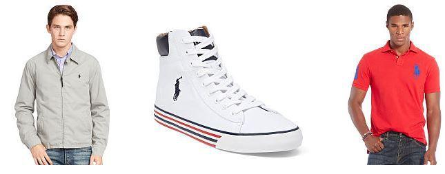 Ralph Lauren Sale mit bis zu  50% Rabatt   z.B. Polo Harvey Mid Sneaker für 58,95€ (statt 75€)