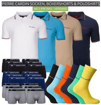 Pierre Cardin Abverkauf bei Outlet46   z.B. HerrenHerren Socken ab 3,99€