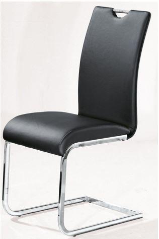 porta! klassischer Freischwinger Stuhl im Lederlook für 29€