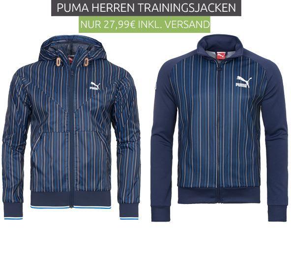 PUMA MCS Tennis und UDO Track   Herren Jacken für je 27,99€