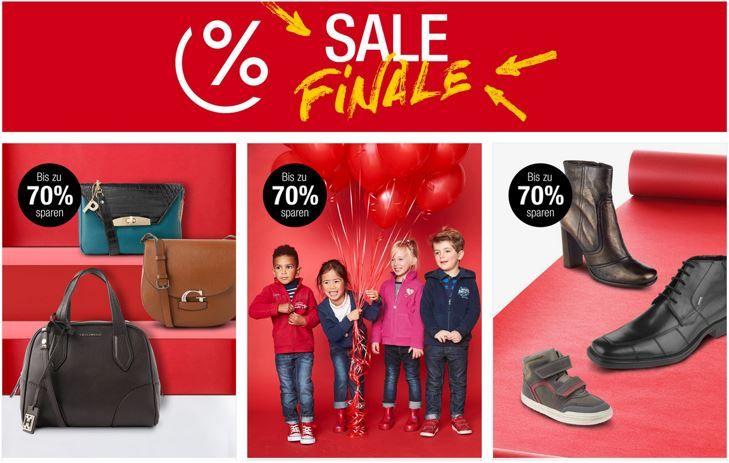 Sale Finale Kaufhof: Final Sale bis 70% Rabatt auf Bekleidung, Schuhe, Düfte, Uhren, Taschen und Accessoieres