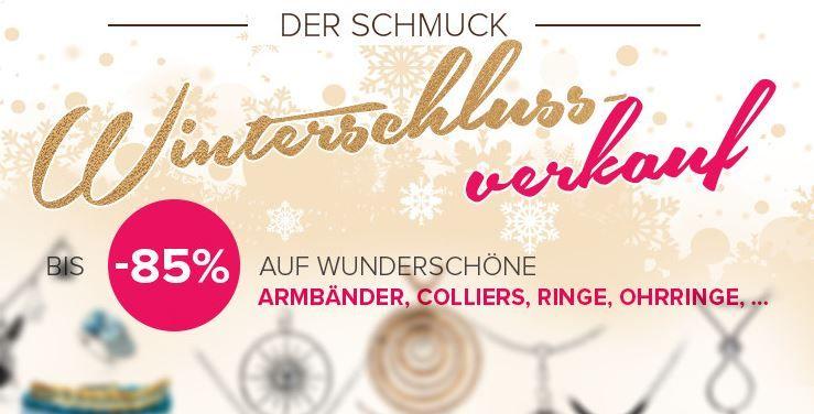 Silvity: Schmuck WSV mit 85% Rabatt + 5€ Extra Rabatt (MBW: 10€)