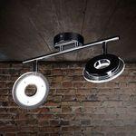 Sempre Due – drehbarer LED 2er Chrom Spot für 29€