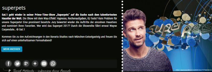 """Freikarten für """"Super Pets"""" am 9. März in München"""