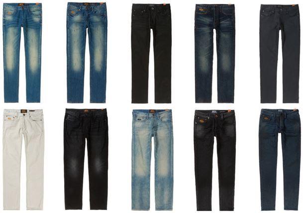Superdry neue Hosen modelle Superdry Herren Jeans für 34,95€ (statt 58€)