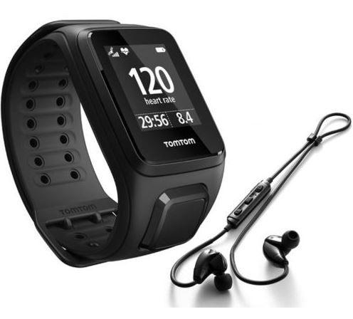 TomTom Spark Cardio + Music Laufuhr + Headset für 99€ (statt 160€)
