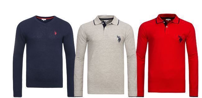 US PoloShirts U.S. POLO ASSN. Pullover & Sweater ab 17,99€