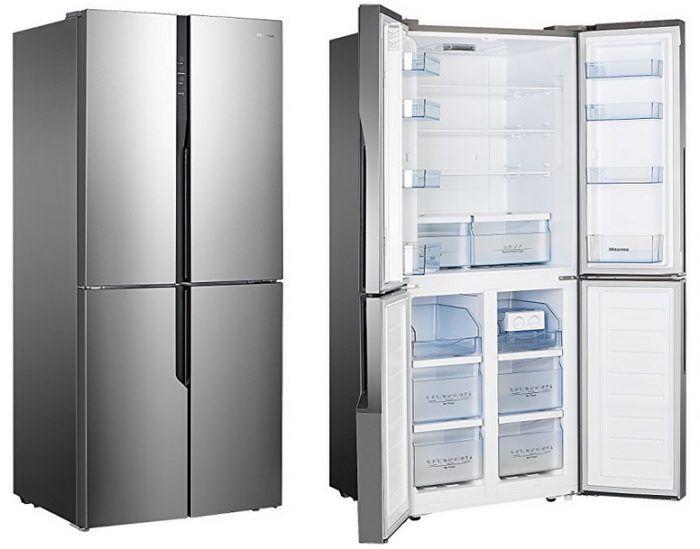 Hisense (MKGNF440EL) Kühl Gefrierkombination mit No Frost und Multi Door Design für 593,10€ (statt 699€)