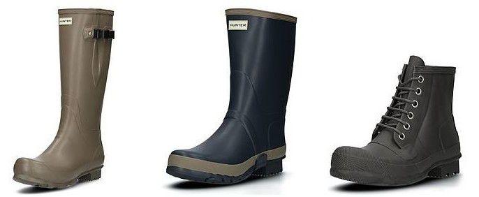 Hunter Boots Sale mit bis zu 40% Rabatt
